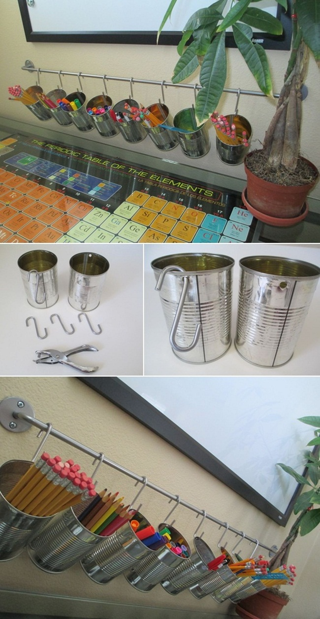 Can Pencil Holders