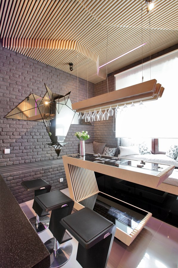 Geometric Shapes Kitchen Designs