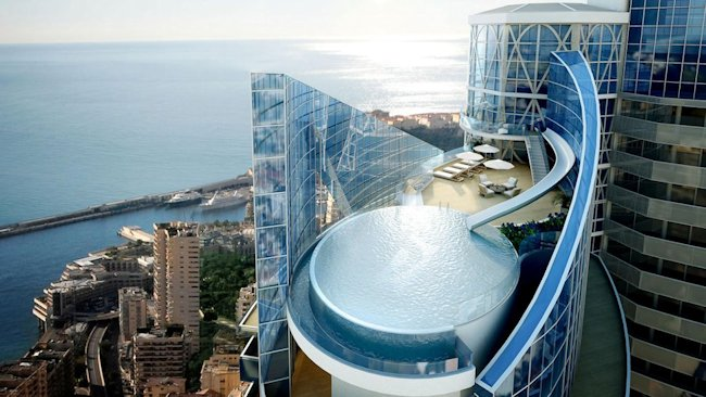 Odeon Tower Rooftop Exterior Penthouse Pool