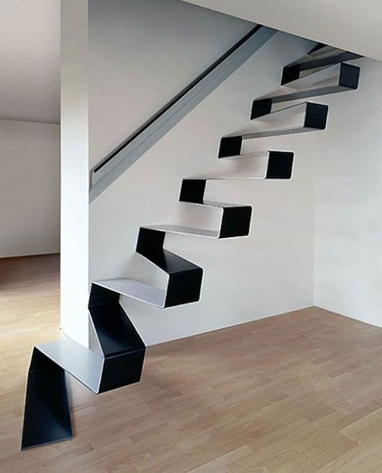 Unconventional Floating Staircase