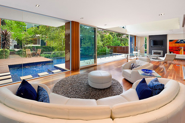 Wahroonga House Living Room