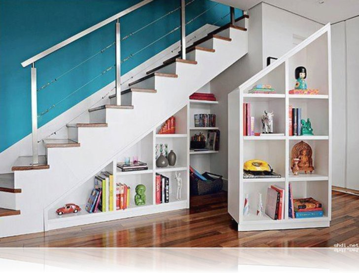 Staircase Shelf