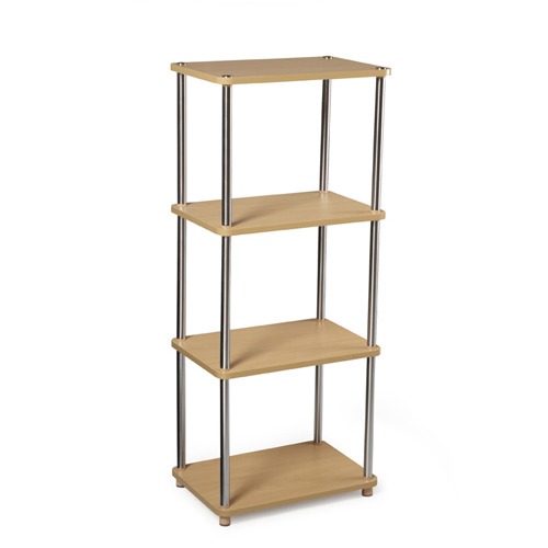 Sleek shelf-stand
