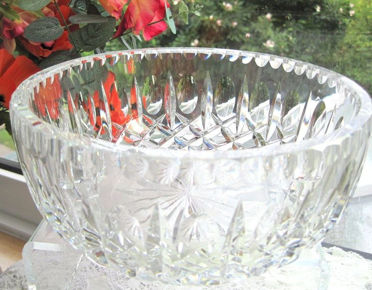 Crystal Salad Bowl