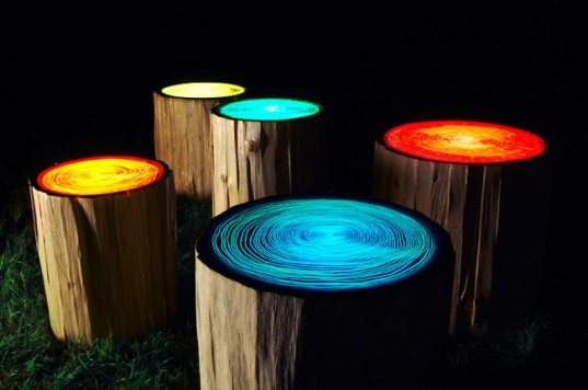 Illuminating Top Trunk Table