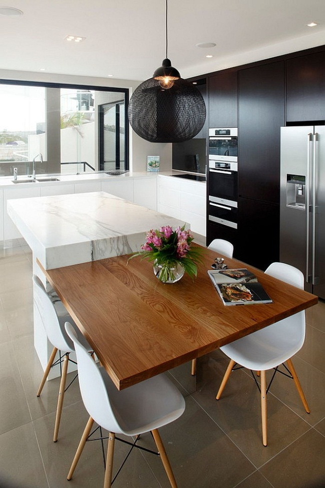 Modern Kitchen Cabinets With A Sleek Finish : HouseBeauty