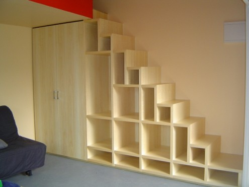Understair Shelf
