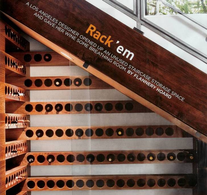 Understair Wine rack