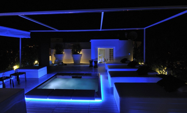 Villa Peppinella Night View
