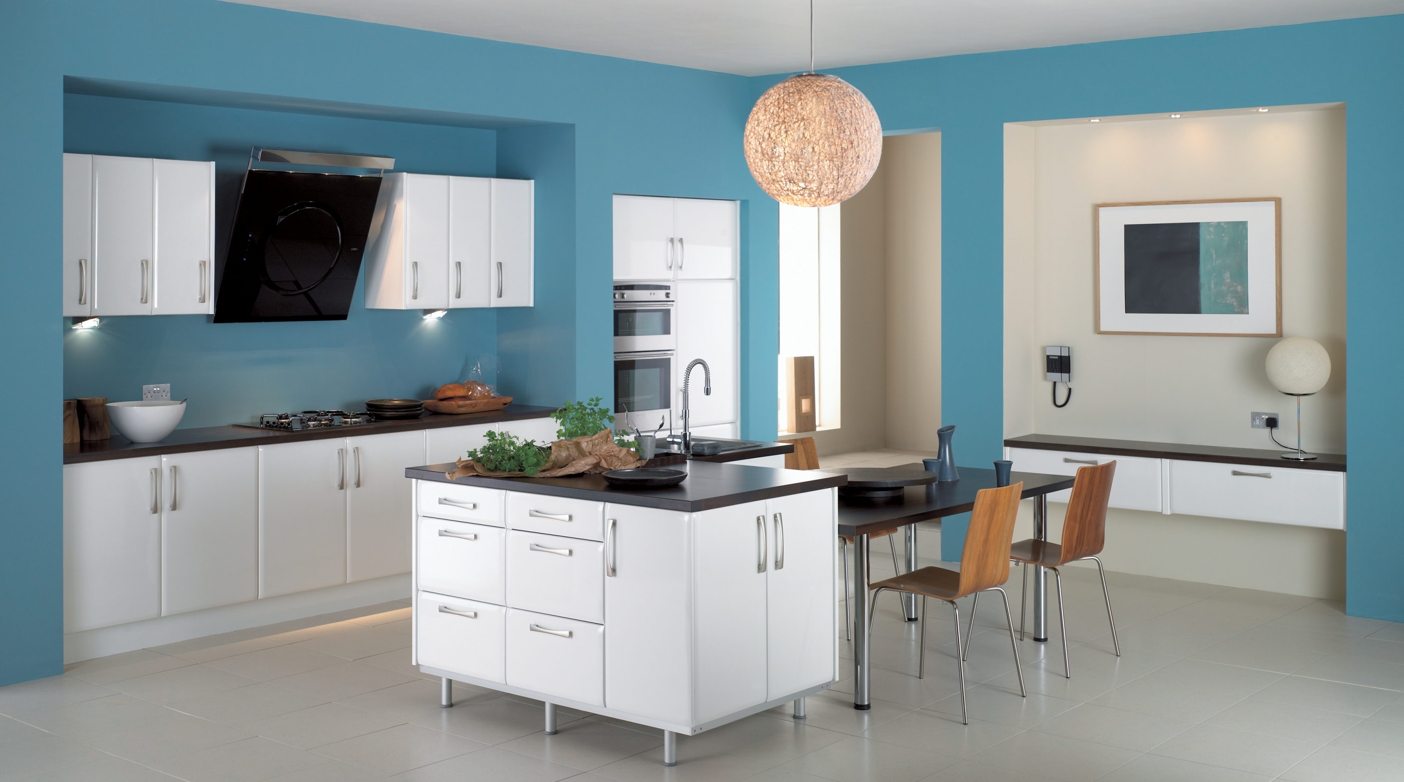 9 white theme kitchen ideas ~ HouseBeauty