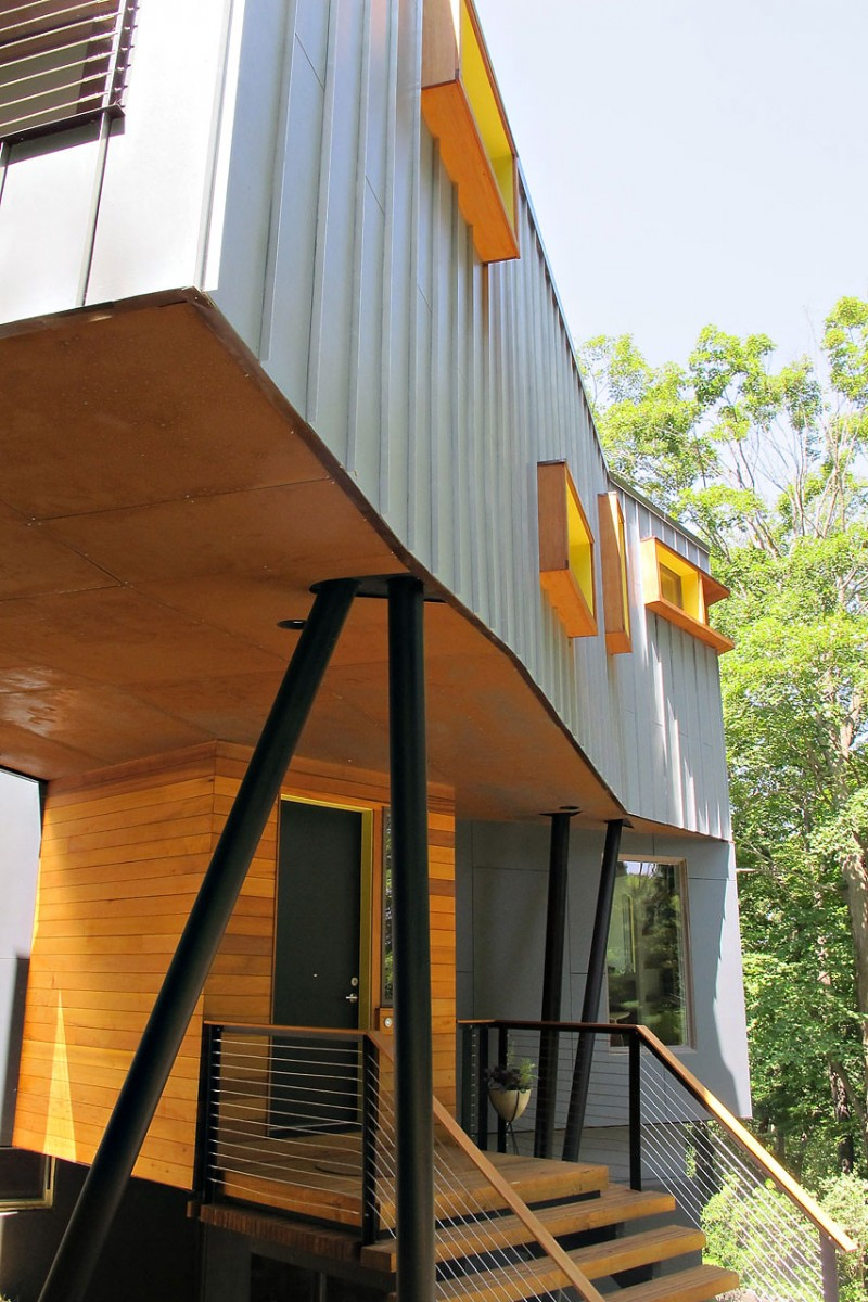 Are House: Sound Mountain House With Woods Elements : HouseBeauty