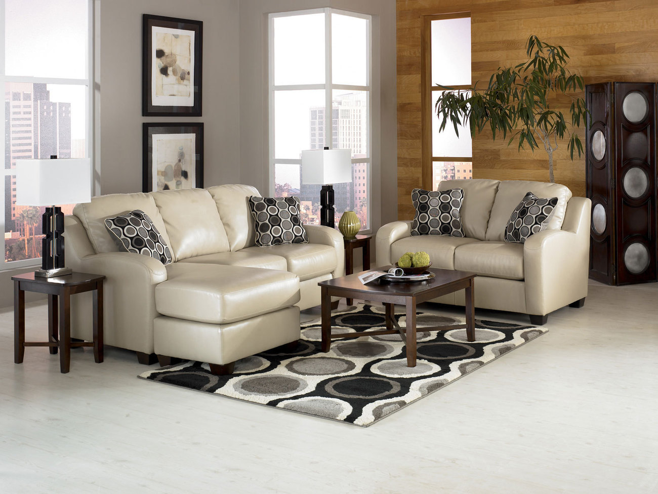 Nice leather sleeper sofa ideas with various designs - Living room design with leather sofa ...