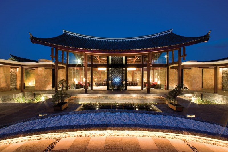 Splendid Chinese Architecture In An Old City Of Heritage