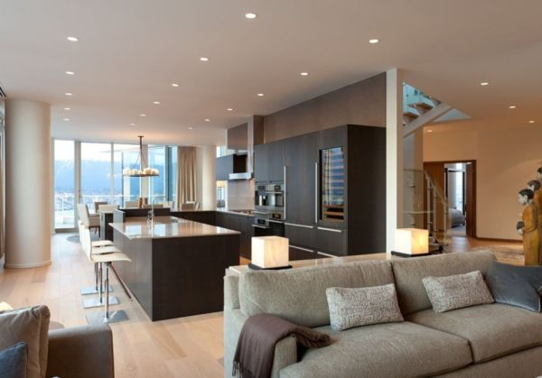 Pretty modern penthouses for elevated standard living - Modern contemporary interior design ...