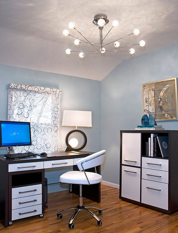 Best Contemporary Home Office Design Ideas Remodel Pictures: Elegant Home Office Design: Modern Minimalist Setting : HouseBeauty