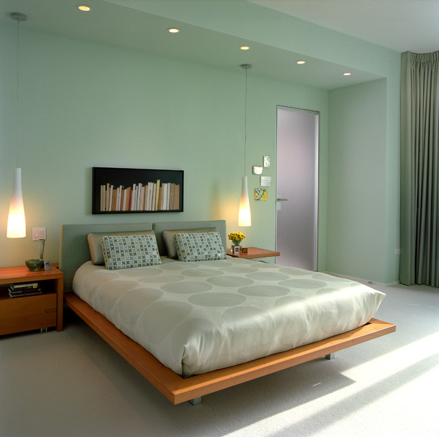 Cozy Green Bedroom Ideas For Natural Shades : HouseBeauty