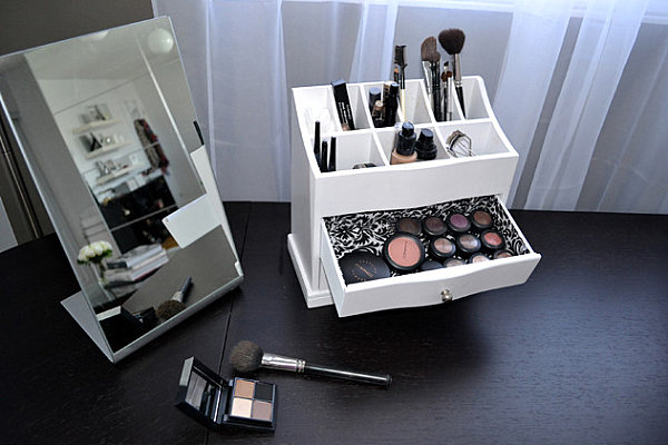 Inspiring Organizer Ideas For Make Up And Stuffs Housebeauty