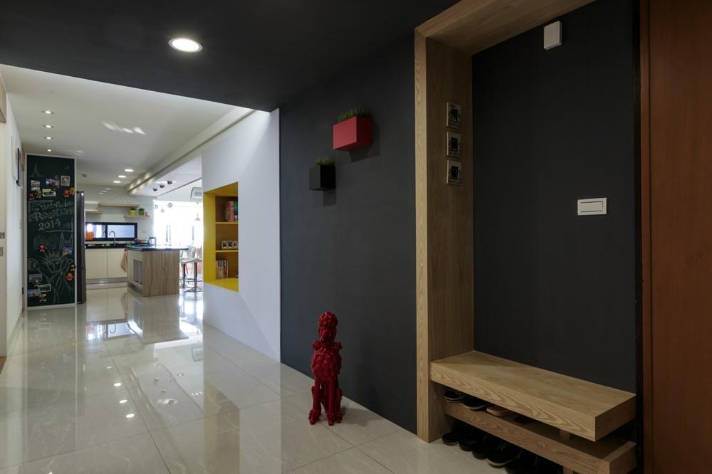 Simple Modern Color Decoration Creating Modern Interior
