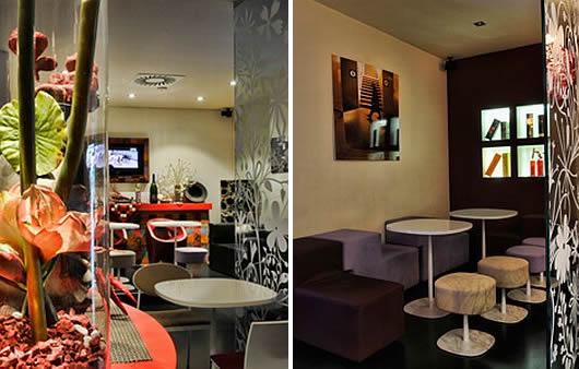 Stunning Modern Interior Design In Scarlett Cafe