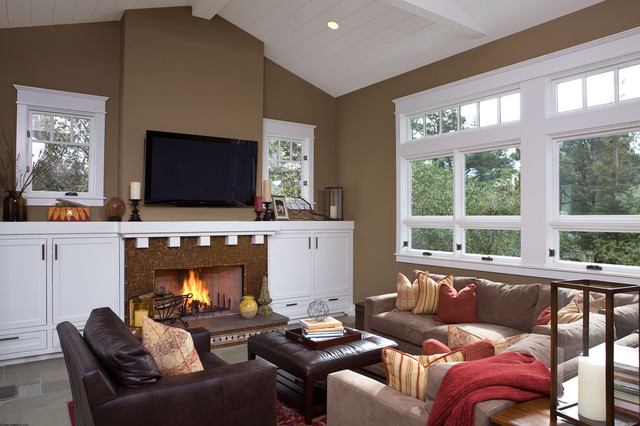 Attractive Fireplace Mantel Ideas Reflected In Fabulous