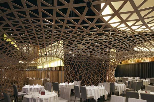 Classic Bamboo Interior Design Designed In Jungle