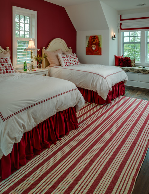 astonishing red white modern bedroom | Passionate Red Bedroom Ideas of New Couples in ...