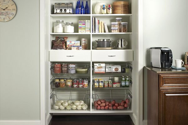 Walk In Closet Organization Wire Shelves