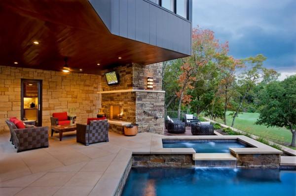 Lovely Modern Lake House Design The Westlake Drive House