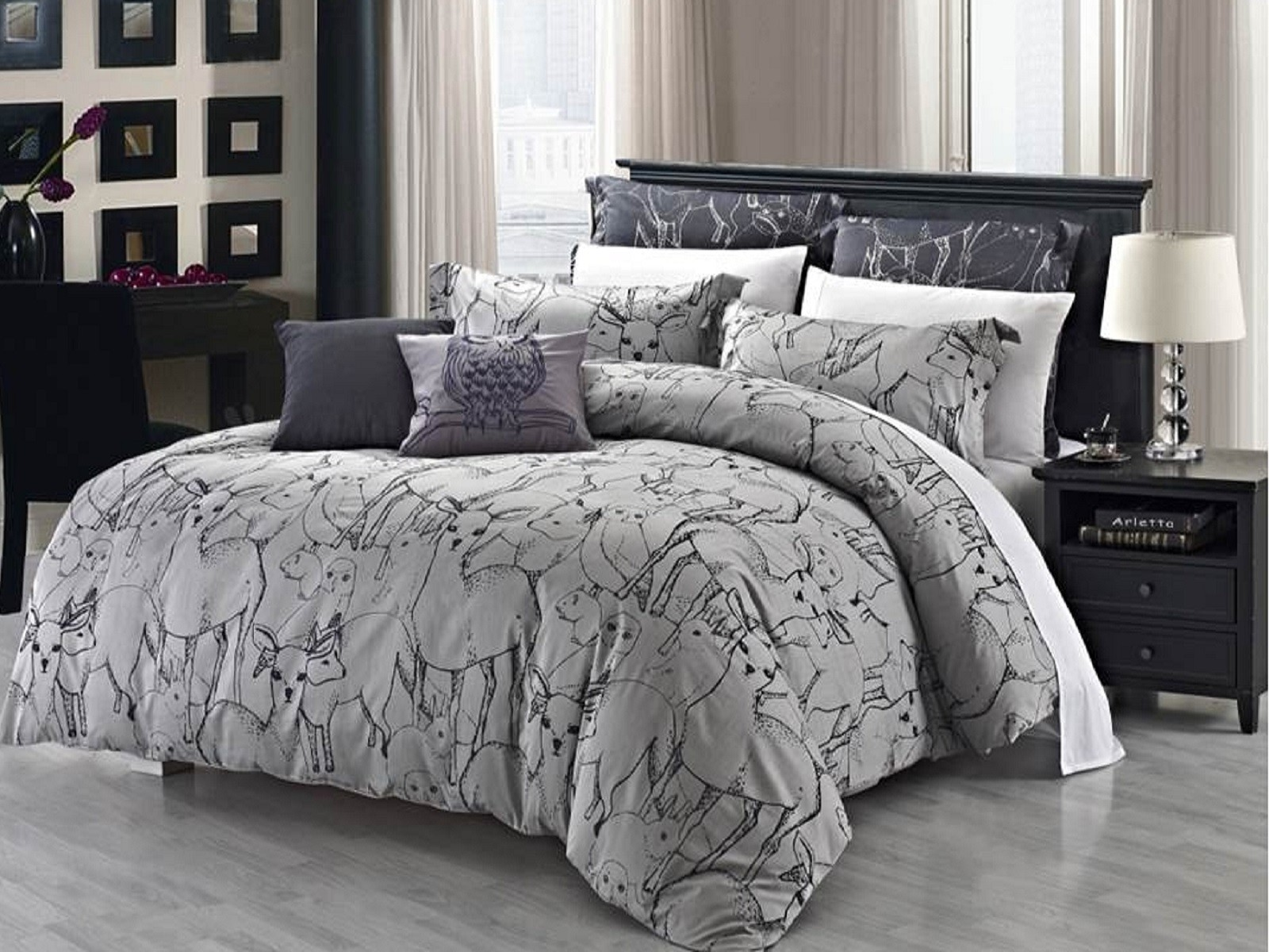 Exquisite Duvet Cover Sets For Contemporary Bedroom