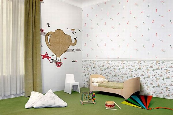 Cute Wallpaper Childrens Bedrooms for Your Lovely Kids : HouseBeauty