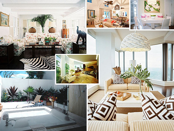 interior design ideas living room other sweet and house decorating | Merry Tropical Interior Design for Sweet Home : HouseBeauty