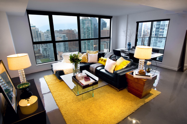 Fine Bold Black Sofas Which Serves Exquisite Interior Decorations Machost Co Dining Chair Design Ideas Machostcouk