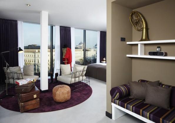 Joyful Hotel Interior Concept Representing Vivid Life In