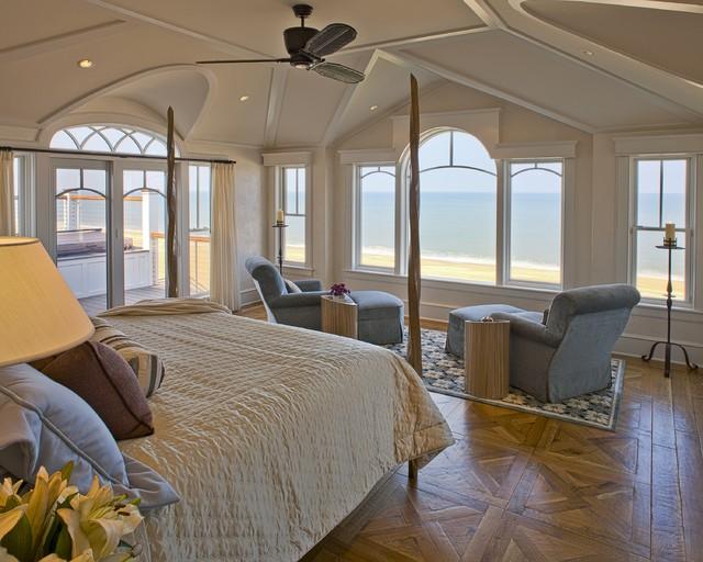 Versatile Beach Bedroom Ideas in Authentic White Interior ...