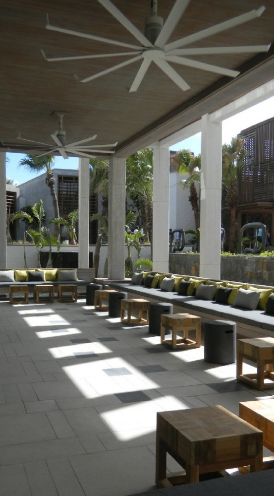 Luxurious Hotel Design With Amazing Courtyard And Swimming