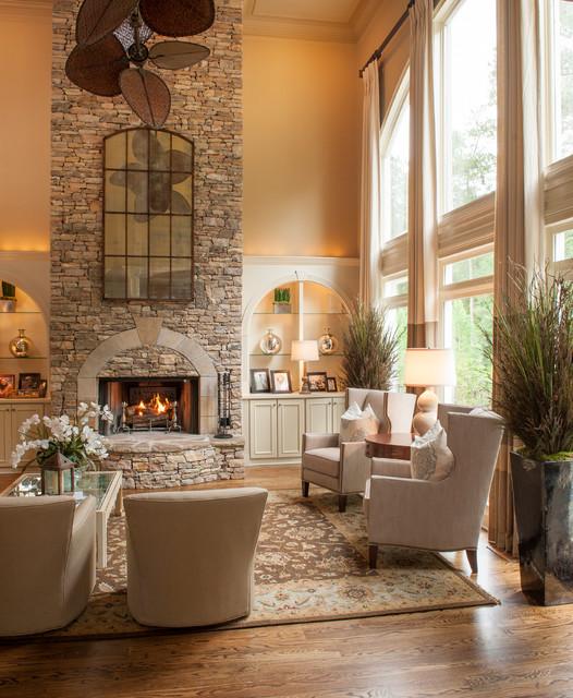 Living Room Mirror Wall Ideas