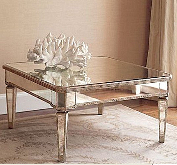 Outstanding Mirrored Furniture For Bedroom Decoration