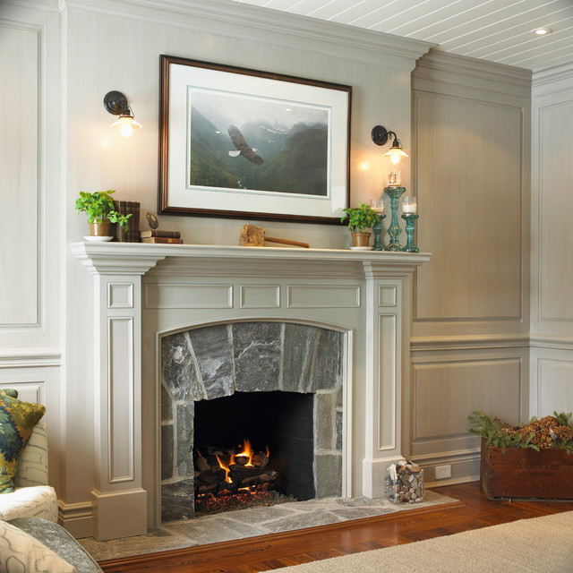 Interior Design Home Decorating Ideas: Awesome Fireplace Mantels In Decorating Home Interior