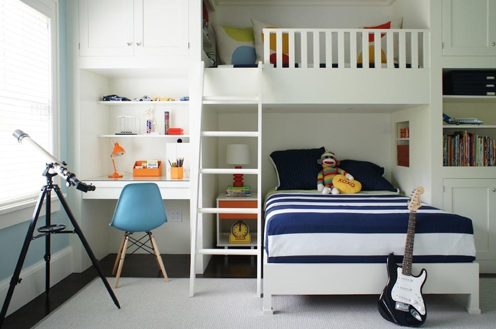Simple Children Bedroom Design For Cheerful Children Room