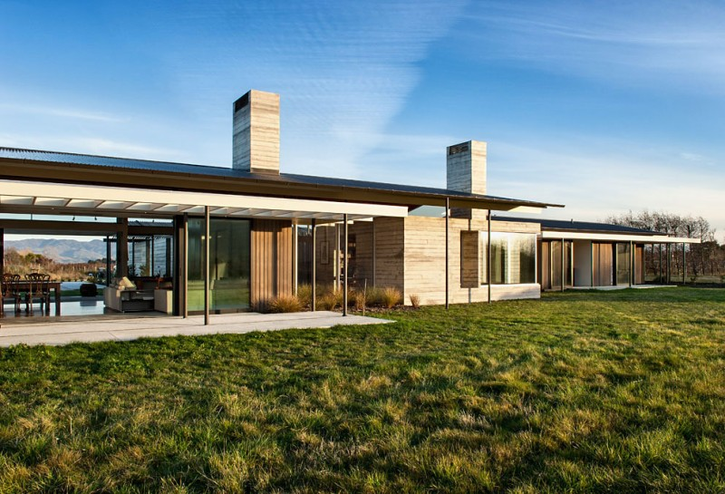 Beautiful Mansion Designs New Home Designs Latest Modern: Chic Wooden Interior Residence On Wairau Valley Of New
