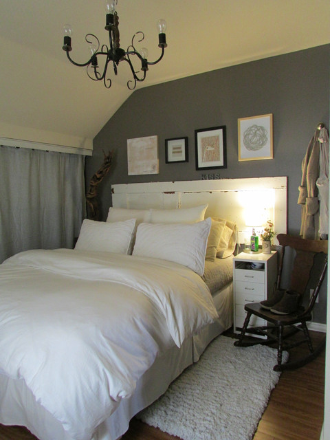 White Bedding Master Bedroom Farmhouse