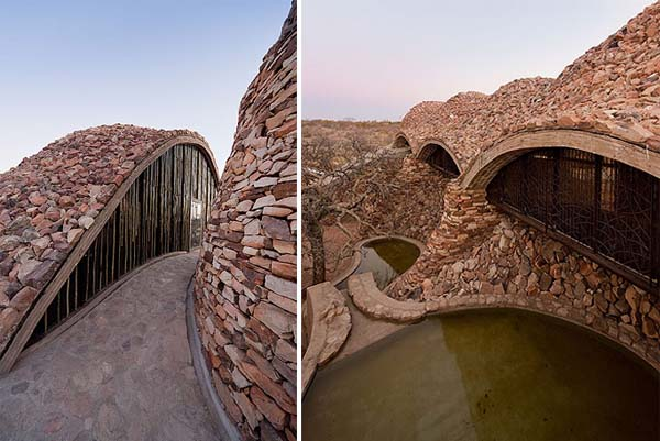 Incredible African Building Design Of National Park In