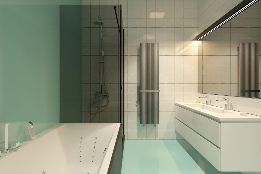 wonderful luxury modern bathroom design   Exquisite Corner Bathtub Designs Symbolizing Bathroom ...