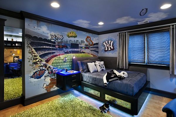 boys bedroom wall colors colorful neon interior paint with contemporary interior 14649