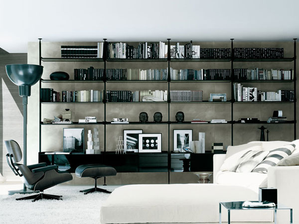 Nice Home Library Design The Reading Sanctuary Housebeauty