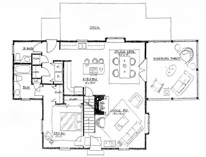 Easy drawing plans online with free program for home plan - Floor plan online free ...