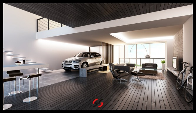 Inspiring Modern Garage Plans For Urban People Living