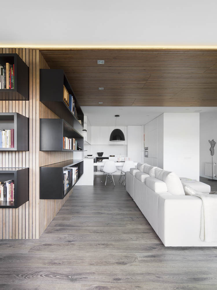 Amazing Modern Apartment Suitable For Book Lovers