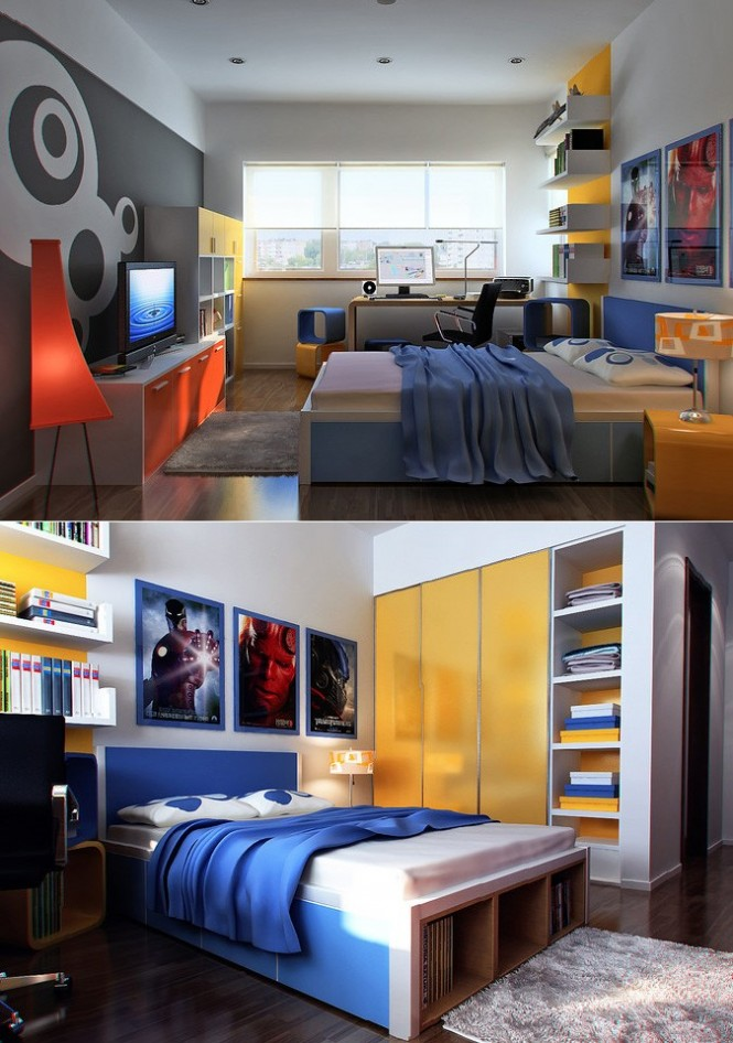 inspiring minimalist boy bedroom design modern office furniture | Asian Wooden Floor Living Room with Modern and Artistic ...