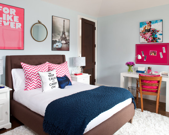Chic Teenage Girls Bedrooms Designs Combining Feminine